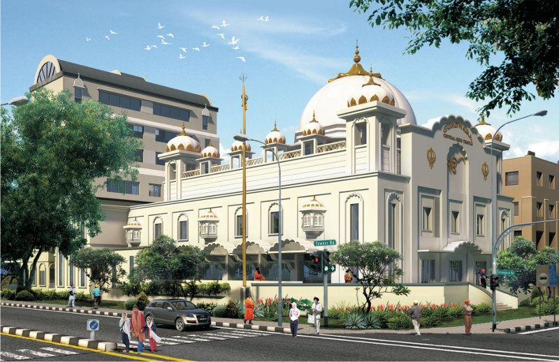 Central Sikh Temple (Wadda Gurdwara)- Singapore