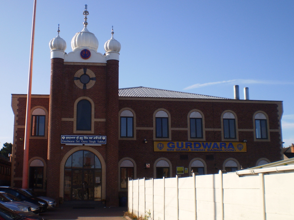 Gurdwara Sri Guru Singh Sabha – Coventry